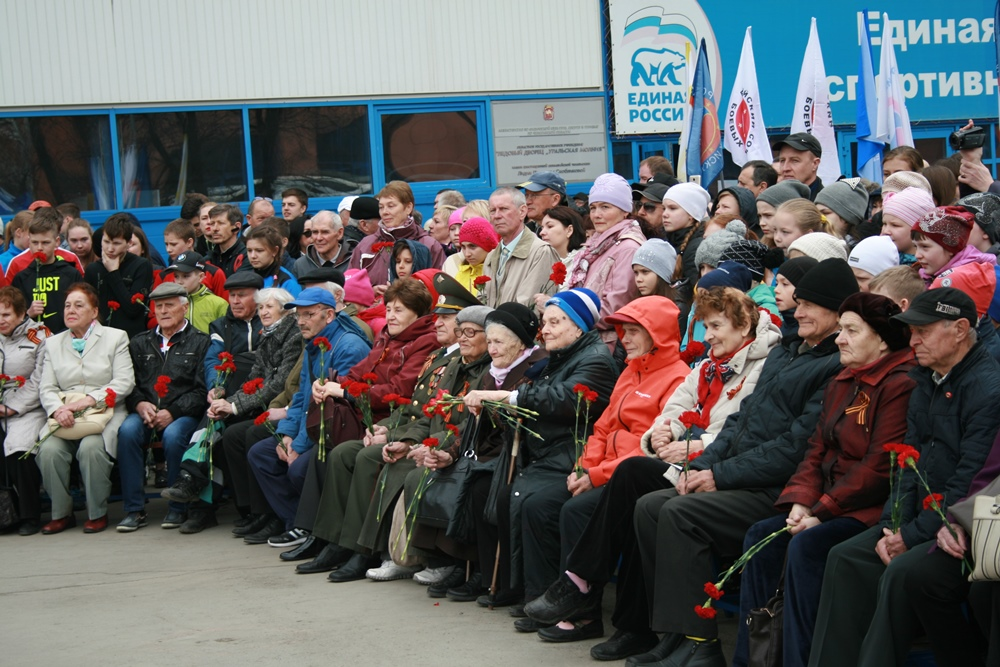 В Челябинске почтили память спортсменов, погибших в годы Великой Отечественной войны. Участники м