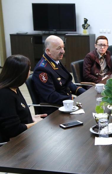 Сегодня, 24 декабря, в управлении Росгвардии по Челябинской области челябинские журналисты в нефо