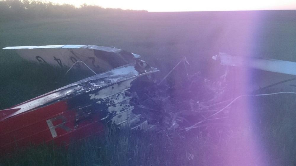 Пилот из Челябинска погиб при крушении самолета в Волгоградской области. Следователями продолжает