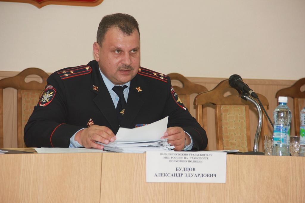По словам начальника Южно-Уральского Линейного управления МВД России на транспорте полковника пол