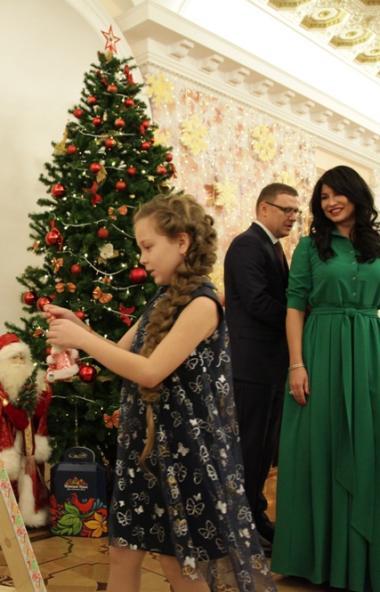 Талантливые дети Челябинской области были приглашены на новогодний прием в резиденцию губернатора