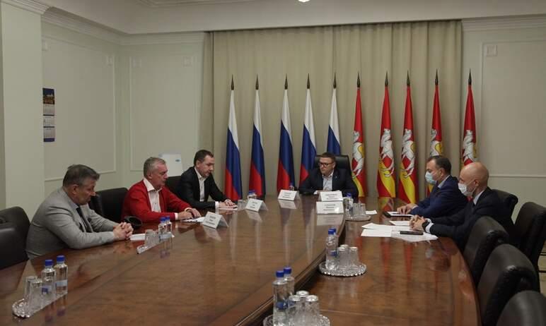 В правительстве Челябинской области состоялась встреча губернатора Челябинской области Алексея Те