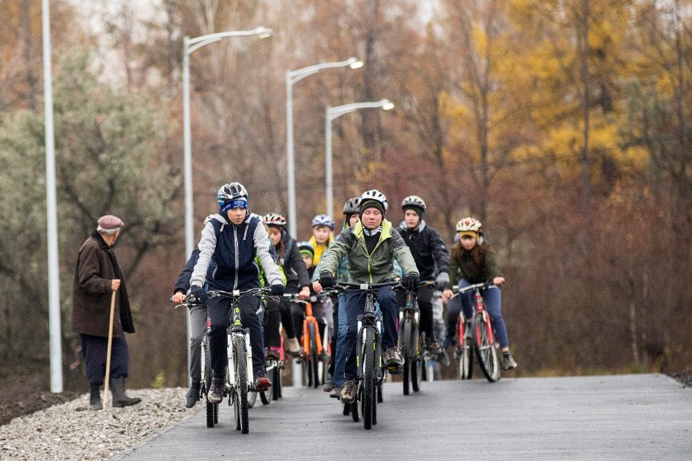 В Копейске (Челябинская область), где действует единственная в регионе школа велосипедного спорта