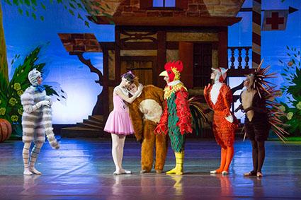 В челябинском театре оперы и балета в эти выходные состоялись премьерные показы балета-сказки «Пр