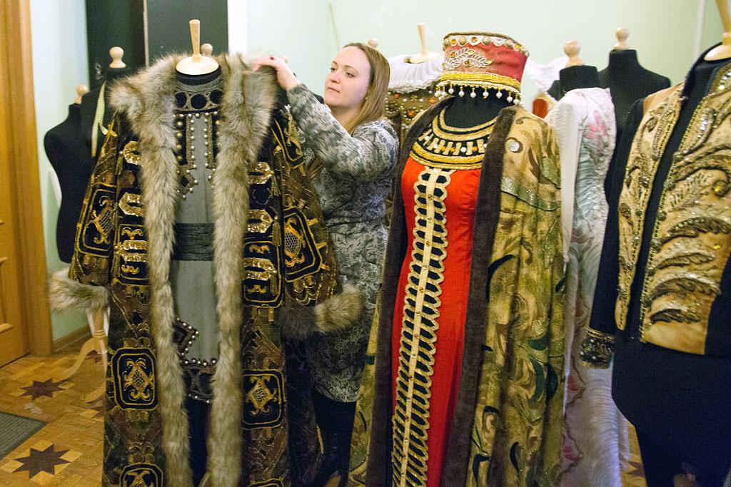 ВЧелябинском театре оперы и балеты имени М.И. Глинки вновь откроется выставка театральных костюм