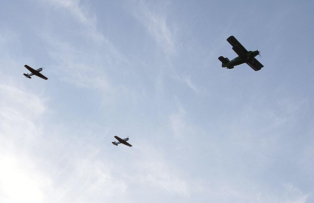 Боевые самолеты не будут принимать участие в торжественном построении в честь 74-летия со дня Поб
