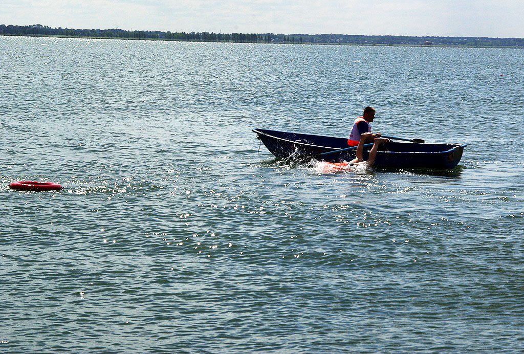 В Челябинске вчера, 18 июля, едва не произошло ЧП на городском пляже Шершней (Центральный район).