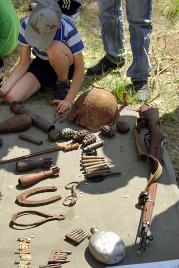 «У мужчины была обнаружена винтовка «Мосина» без приклада образца 1895 года выпуск