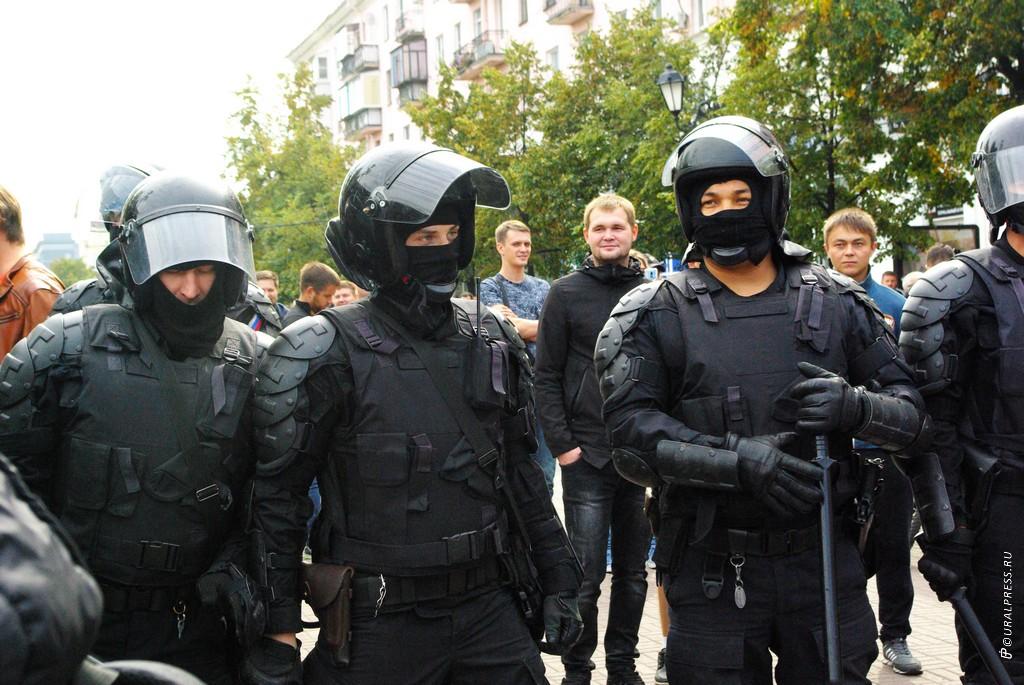 Полицейские Челябинска выставили