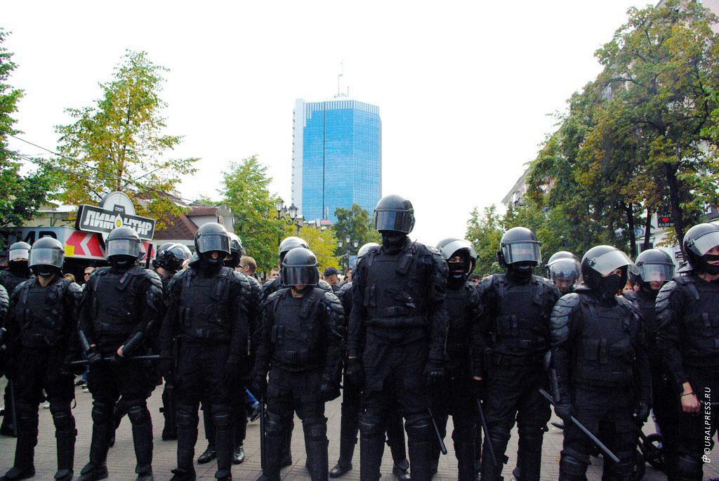В Челябинске подводят итоги несанкционированного митинга против повышения пенсионного возраста. З