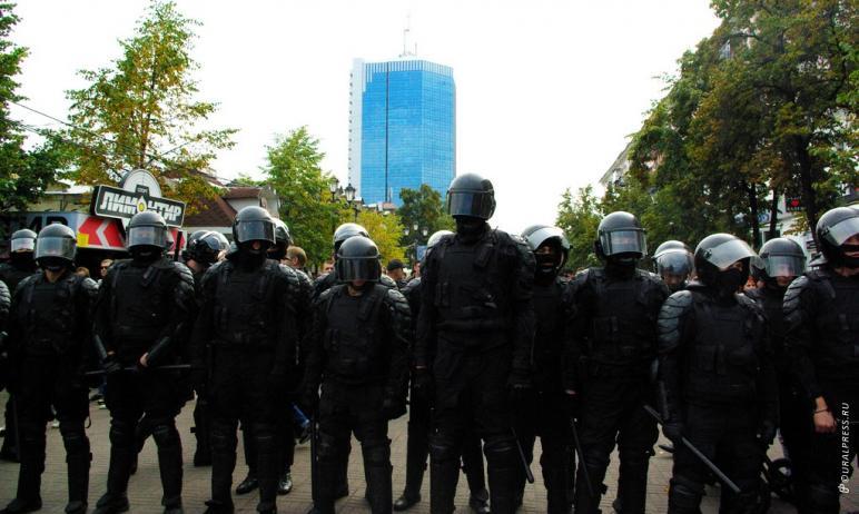 Сотрудники южноральской полиции готовы обеспечить общественный порядок в ходе несанкционированной
