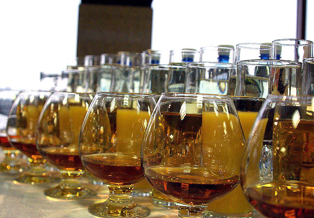 «Полицейскими изъята алкогольная продукция в количестве 240 бутылок известных