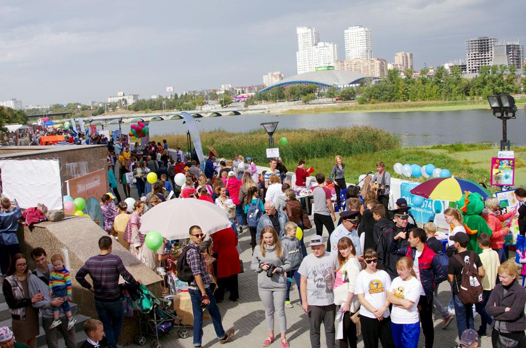 2 сентября, суббота В 10 часов состоится торжественное открытие акции – В