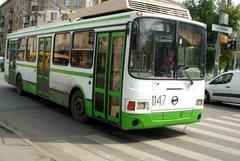 «Автобус № 34, по просьбам жителей микрорайона и в связи с высоким пассажиропотоко