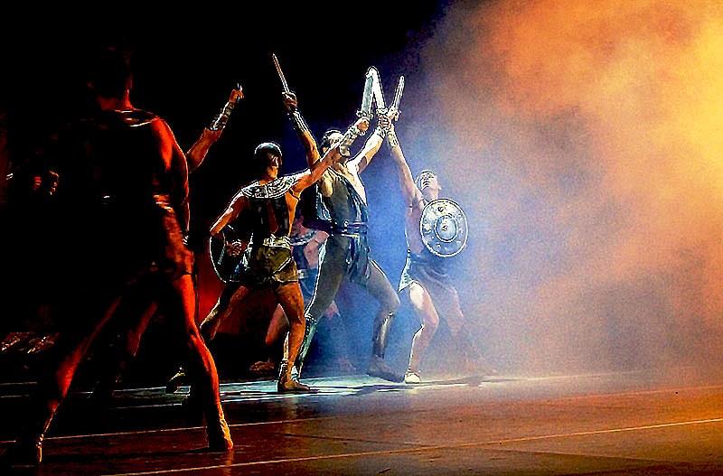 Первым челябинцы увидели балет «Спартак» Нижегородского государственного академического театра оп