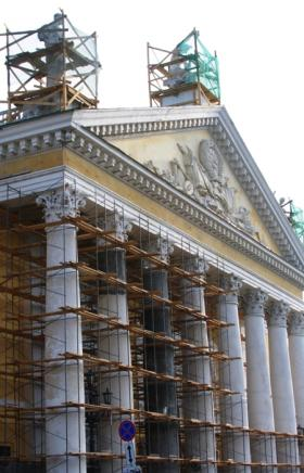 Ремонт челябинского театра оперы и балета будет приостановлен.  Такое решение принял Гос