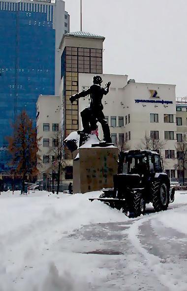 В ночь на 24 декабря снег прошёл в Челябинске и в четырех районах области - Аргаяшском, Каслинско
