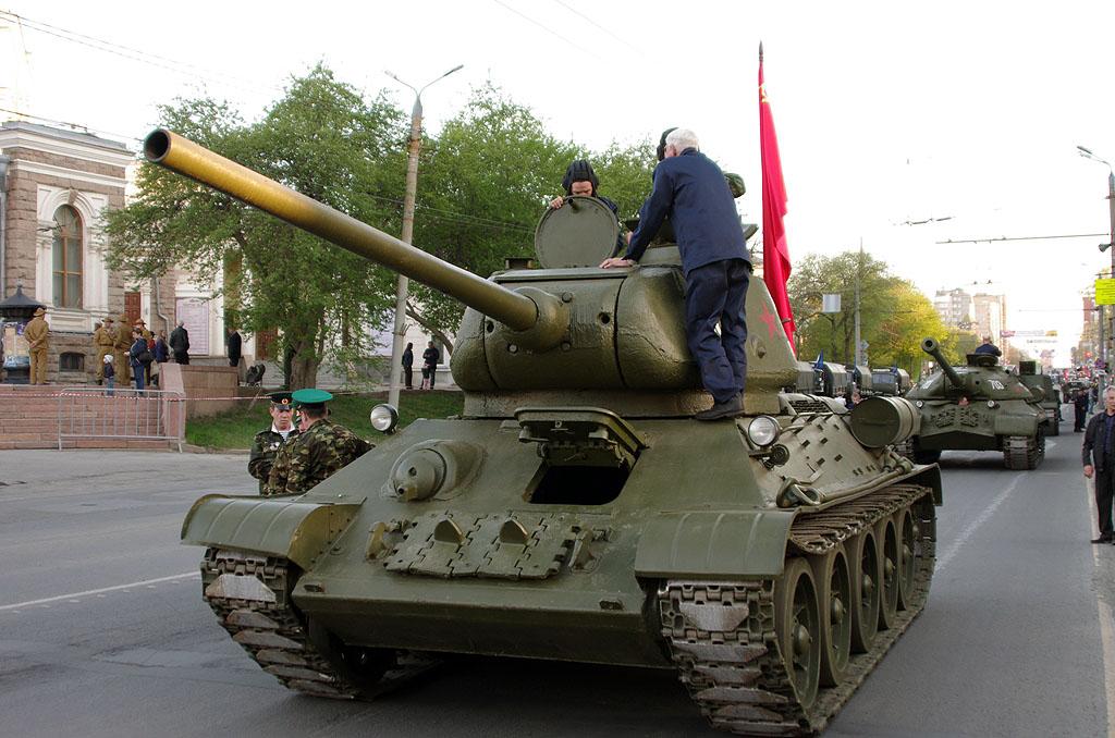 В Челябинске сегодня, седьмого мая, в 19 часов пройдет генеральная репетиция торжественного постр
