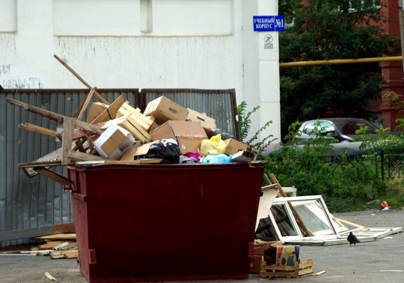 Как рассказал сити-менеджер, в Челябинске есть серьезные проблемы с большим количеством мусора на