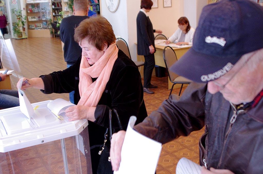 «Явка на 12 часов на выборах депутатов Государственной Думы Российской Федерации седьмого созыва