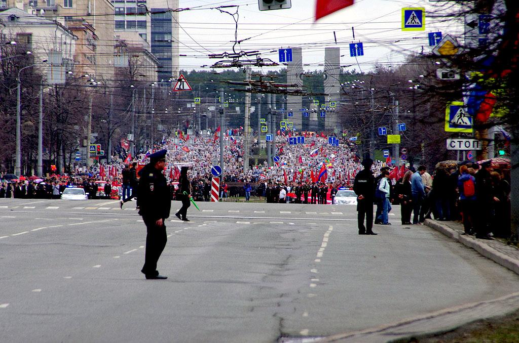 В связи с проведением праздничных мероприятий, посвященных Дню Победы, автолюбителей Челябинска п