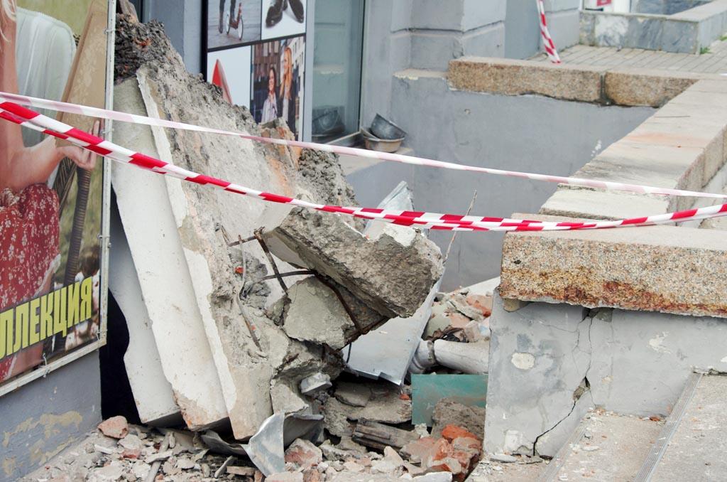 «Несмотря на аварийное состояние балкона, меры по обеспечению безопасности людей,