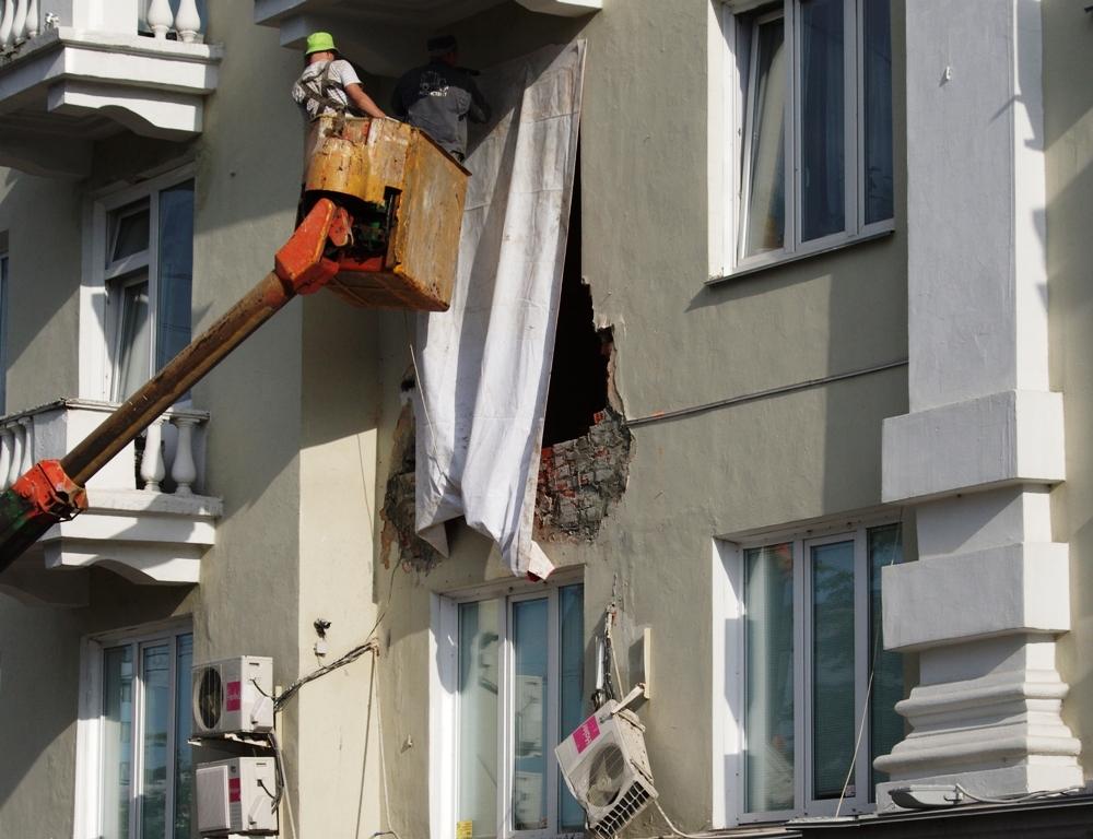 Как стало известно агентству «Урал-пресс-информ», работники обслуживающей дом управляющей компани