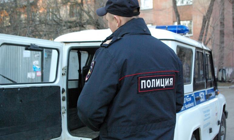 В Челябинске сотрудники полиции задержали жителя Москвы, который приехал в гости к подруге, но в