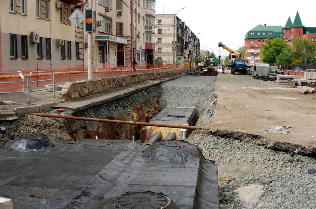 В Челябинске перекрыли ряд дорог в связи с капитальными ремонтами тепловых сетей - АО «УТСК» прод