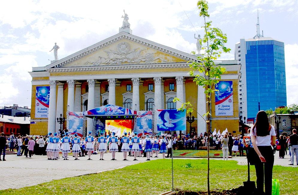 В Челябинске активисты хотят переименовать площадь Ярославского. Письмо с предложением назвать ее