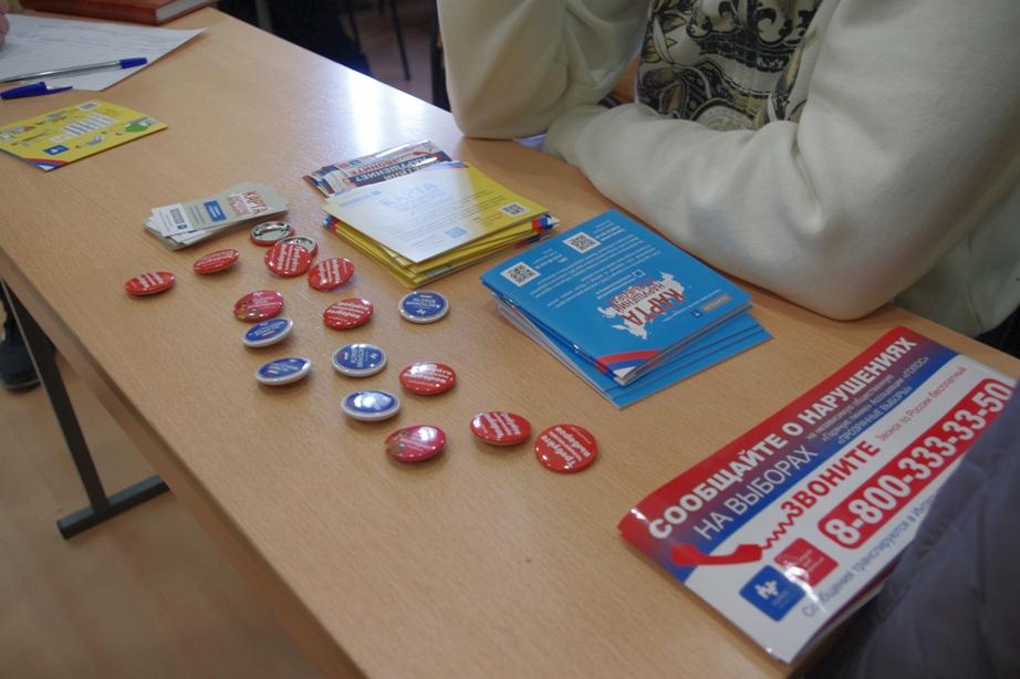 По словам председателя фонда «Голос-Урал» Юрия Гурмана, на избирательных участках в Курчатовском
