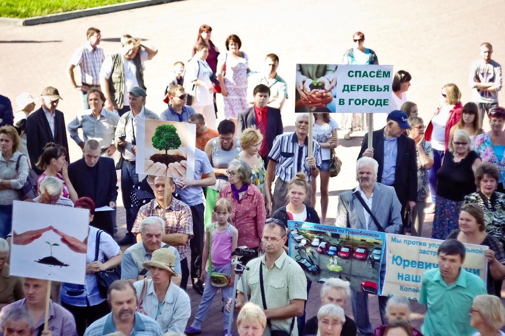 Публичную акцию открыла Светлана Сумбаева, которая возглавляет инициативную