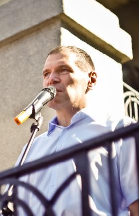 В Челябинске владельцы киосков отважились на протест против действий городских властей, собрав се