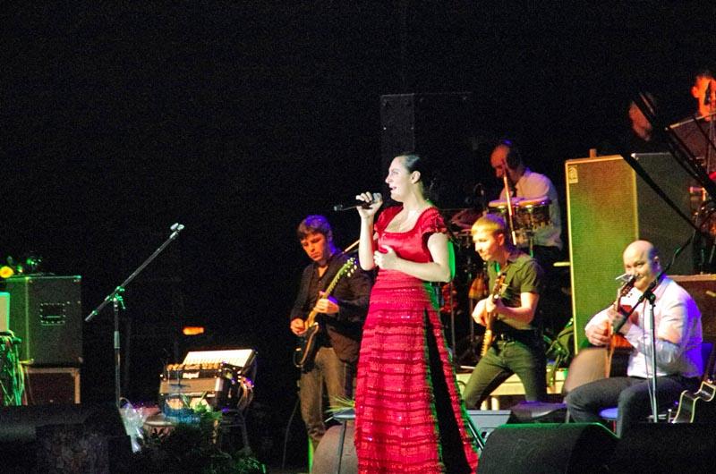 Гостья из Северной столицы – Санкт-Петербурга - представила поклонникам новую программу «Лена».