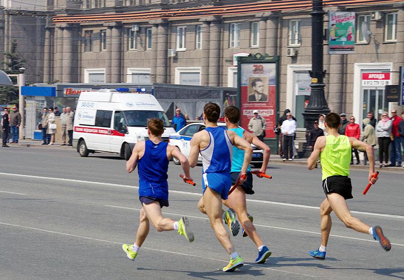 В Челябинске 2 мая состоится 86-я легкоатлетическая эстафета, 65-я кольцевая велогонка и