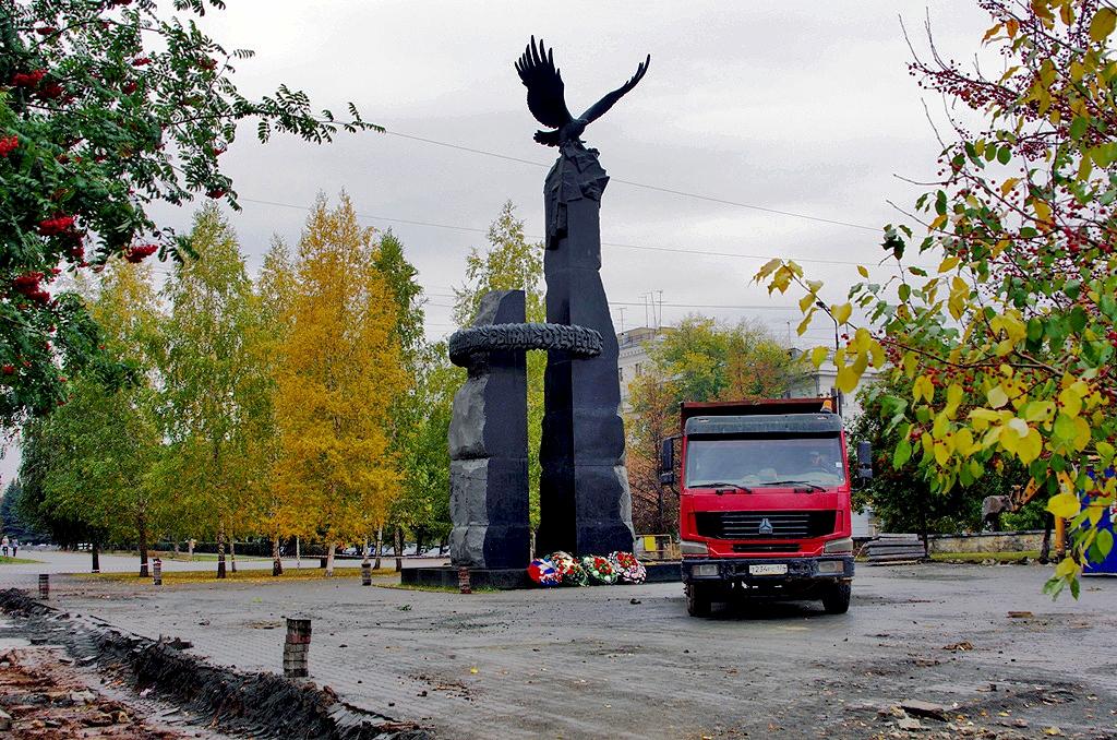Мемориал воинам южноуральцам, погибшим при выполнении воинского интернационального долга за преде
