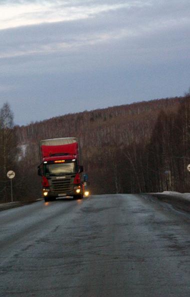 В связи с неблагоприятными погодными условиями дорожные службы ведут круглосуточное патрулировани