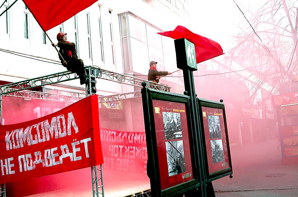 В Челябинске на пешеходной Кировке в галерее «Каменный пояс» в пятницу, 26 октября, состоялось то
