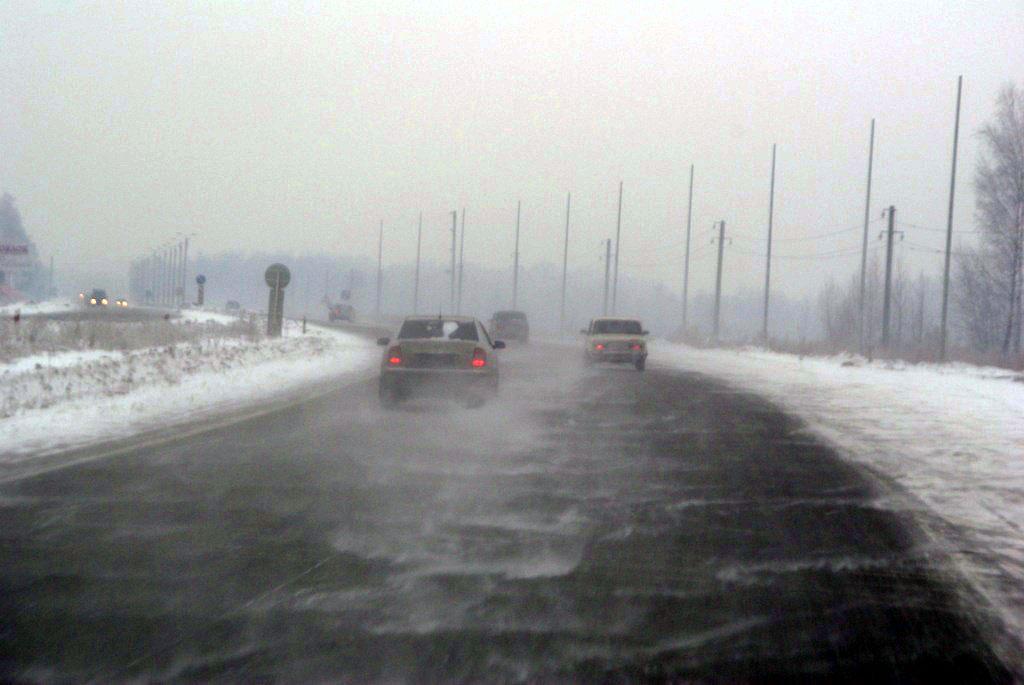 В настоящее время на территории в южных районах в горнозаводской зоне области идет снег. Из-за по