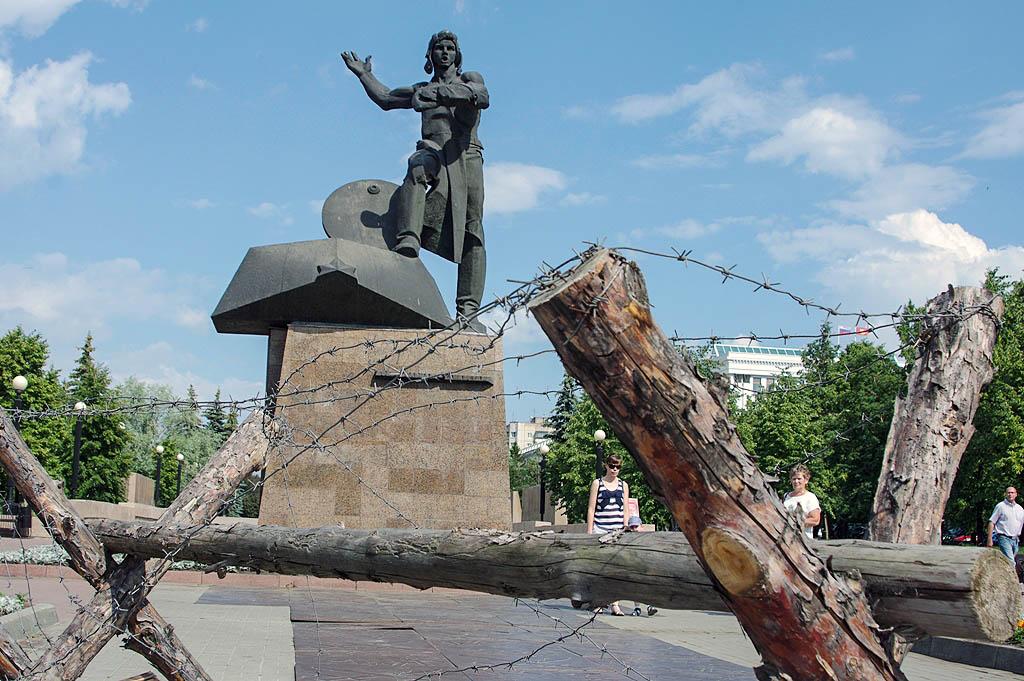 Как сообщает ГУ МЧС России по Челябинской области, в эти дни на пешеходной части улицы Кирова у п