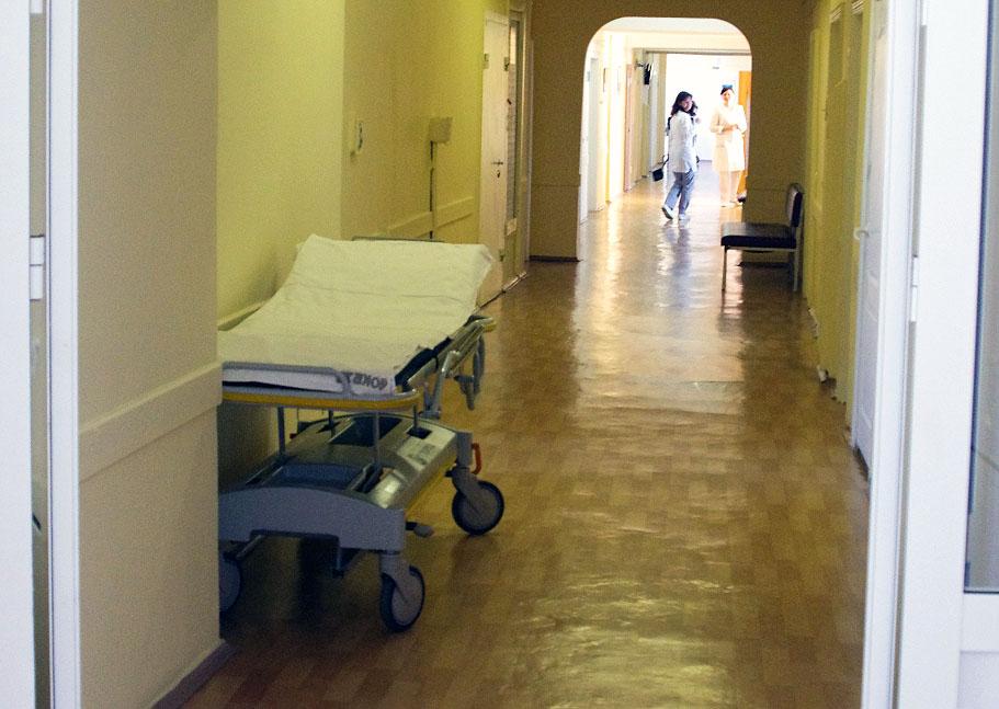 В больнице № 1 поселка Потанино Копейского городского округа (Челябинская область), где за месяц