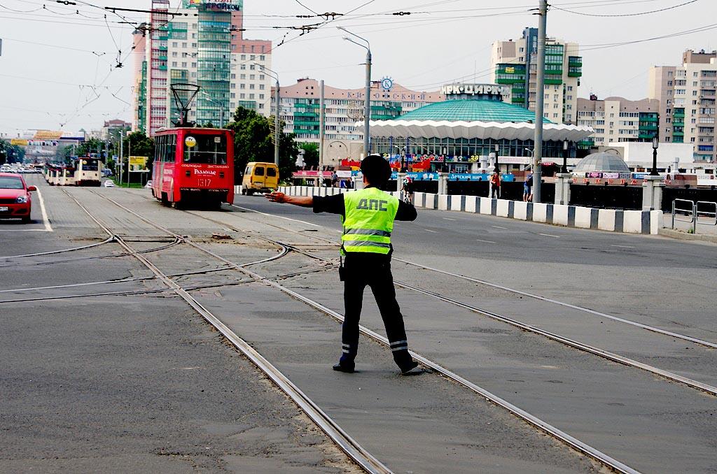 Как сообщили агентству «Урал-пресс-информ» в пресс-службе городского управления транспорта, ДТП п