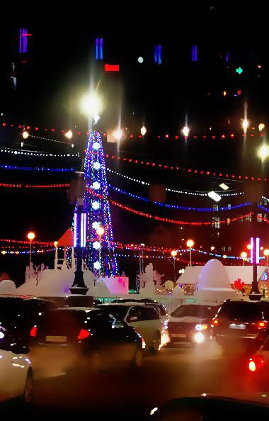 Новогодняя ночь, с 31 декабря на 1 января, в Челябинской области по прогнозам синоптиков обещает