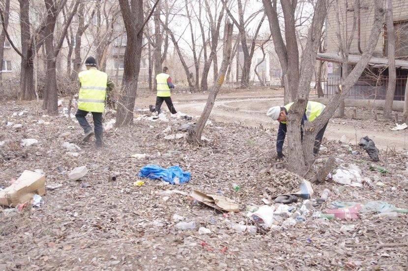 По словам Котовой, ранее провести уборку не позволяли низкие температуры – теперь же эта задача в