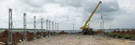 На сегодняшний день успешно ведется строительство на 8 площадках: в поселках Нагайбакский, Гумбей