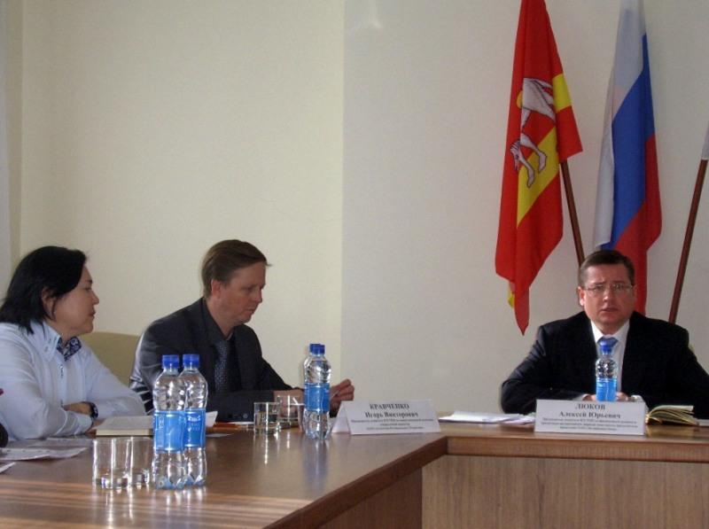 Во встрече также приняли участие представители регионального центра ООО «Факторинговая компания «