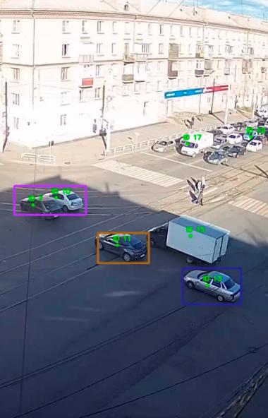 Сразу десять крупных перекрёстков Челябинска взяты под круглосуточное наблюдением «умных» видеока