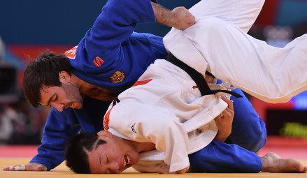 В финальной схватке Мансур одолел Рики Накайя из Японии. Это уже второе золото в копилке р