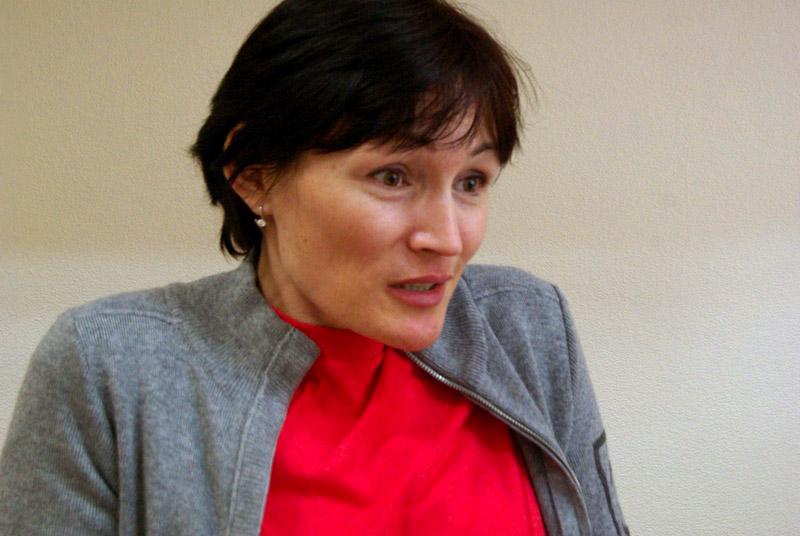 Двукратная олимпийская чемпионка по биатлону, депутат Государственной Думы от партии «Еди