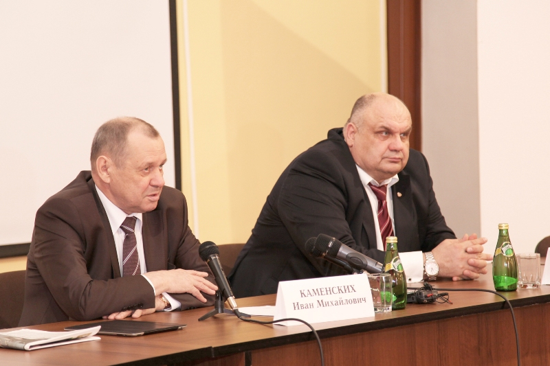 На совещании с участием представителей ПО «Маяк» и городских организаций и ведомств Иван Каменски